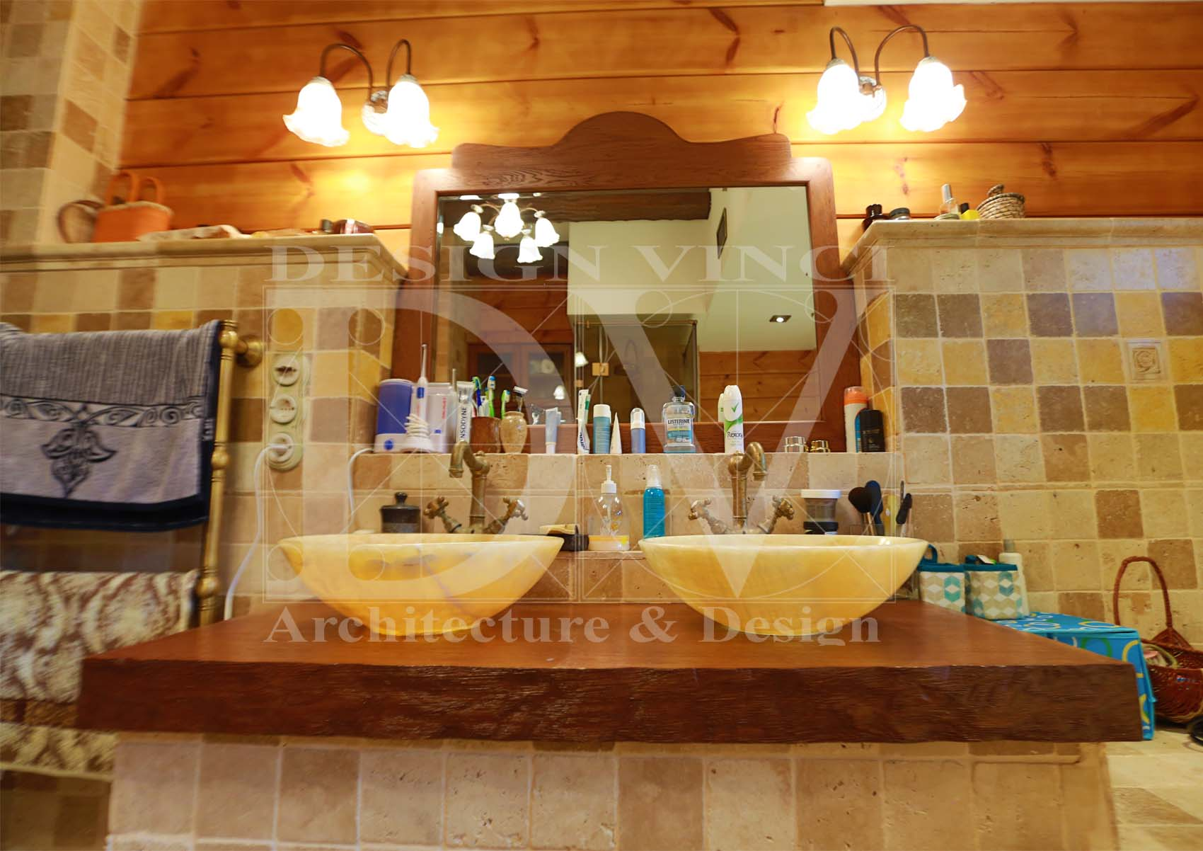 Bagno rustico toscano - Mobili stile toscano ...
